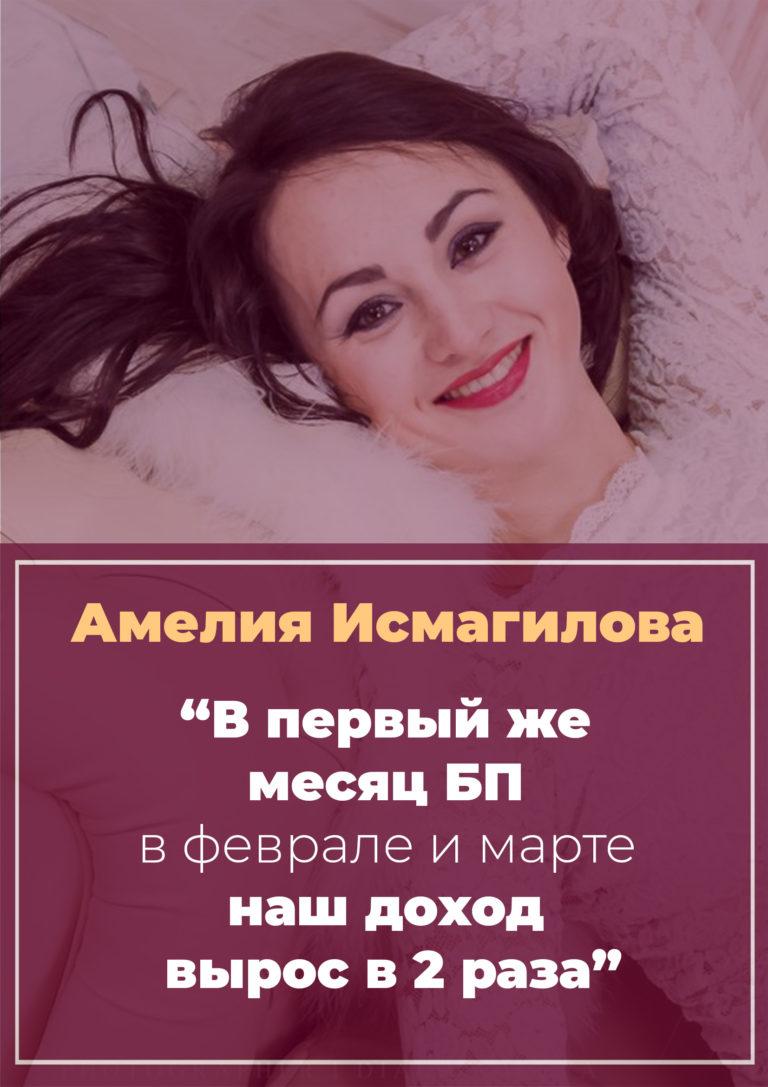 История Амелии Исмагиловой