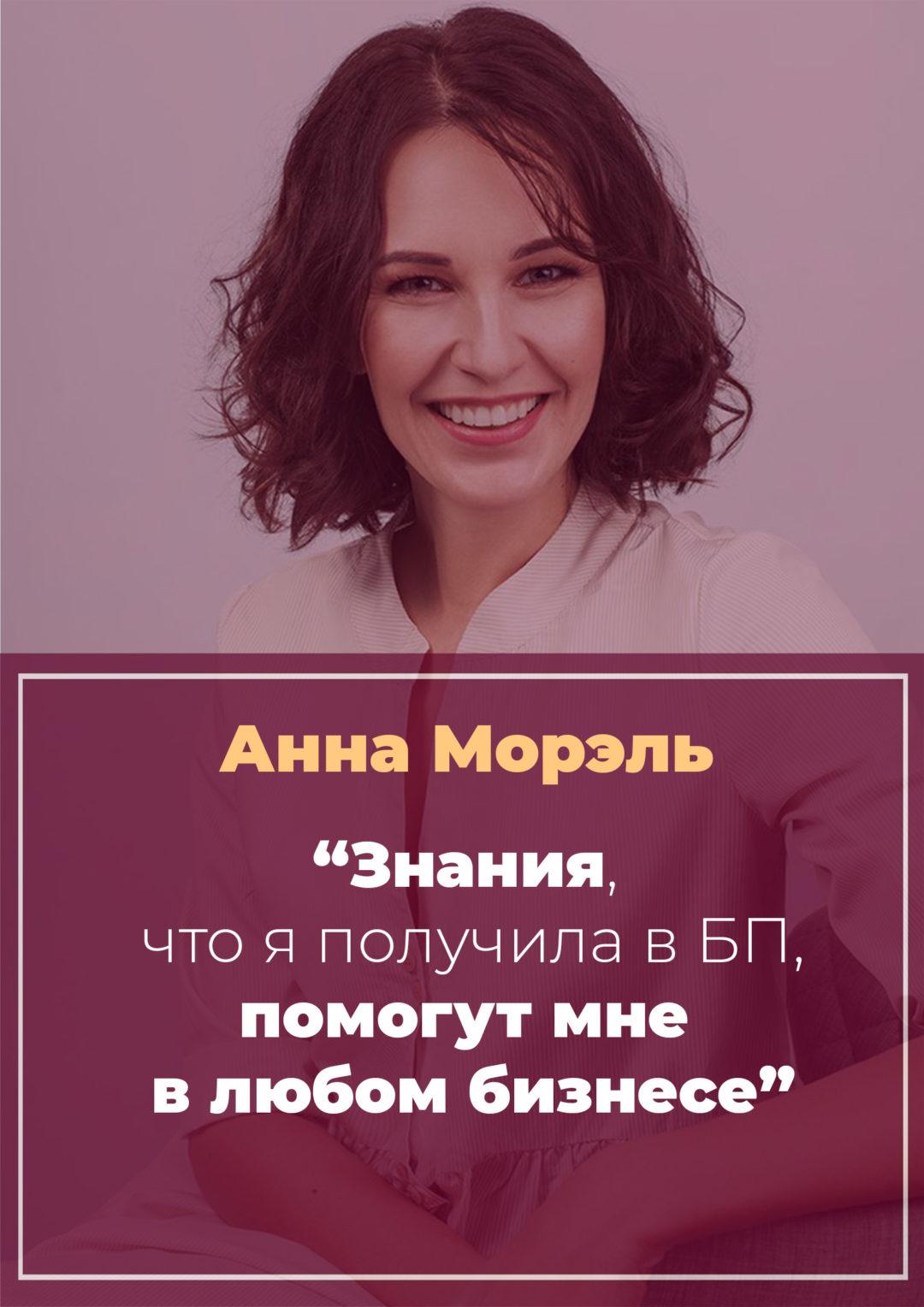 История Анны Морэль